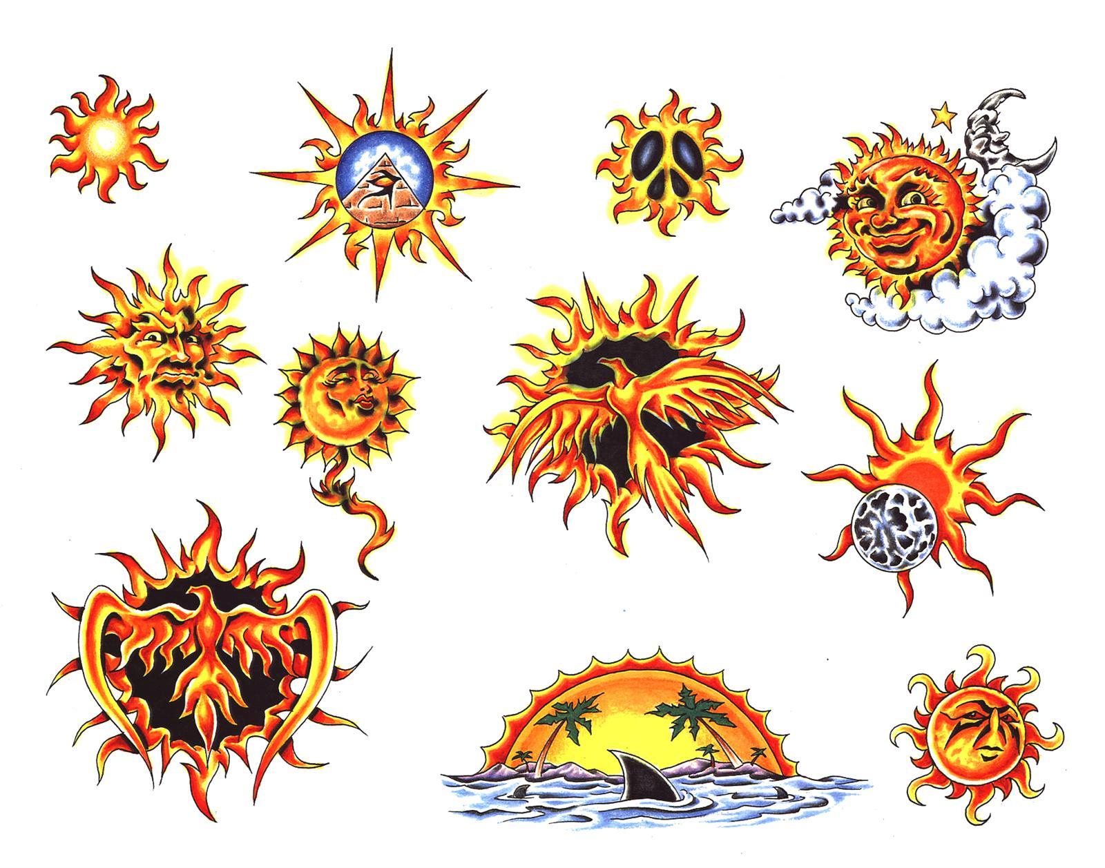 Slunce / Měsíc