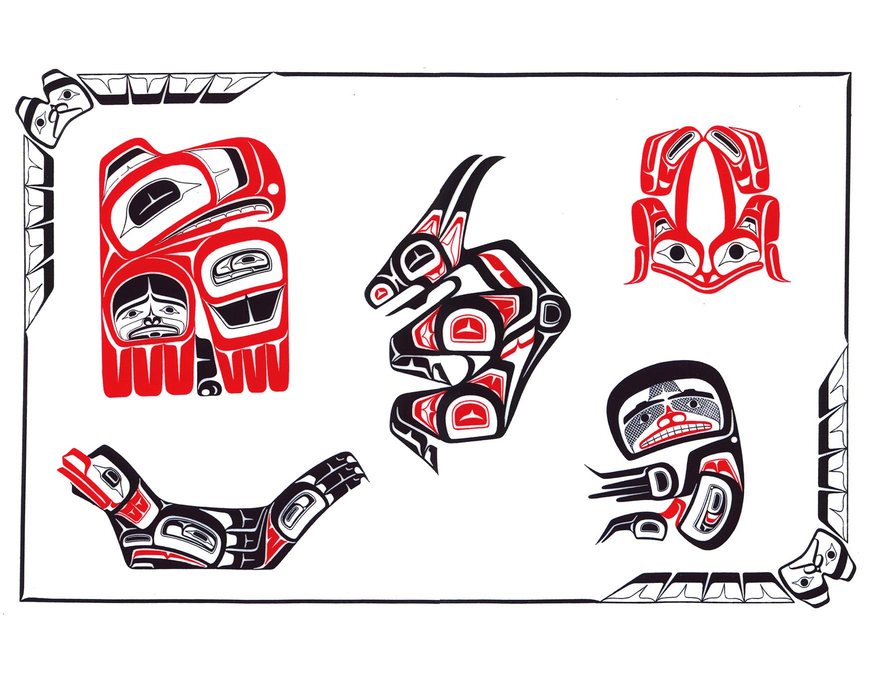 Mexický,Latin, Aztec