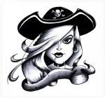 motivy tetování Pirátský