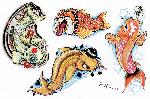 Japonskej zlatej kapr