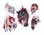 Tygr Vlk Panter