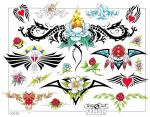 Tribal Srdce Růže