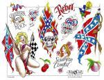 motivy tetování Vlajky / nacionální