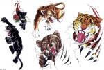 motivy tetování Panter