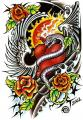 Had Srdce Křídla Růže